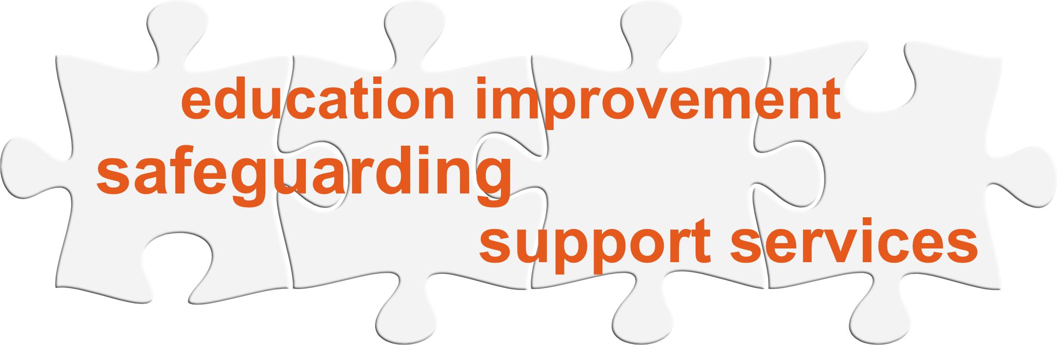 Solgrid education logo - jigsaw pieces